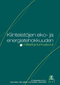 Kiinteistöjen eko- ja energiatehokkuuden mittarit ja tunnusluvut